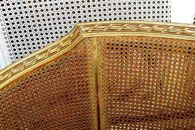 19th Century French Louis XVI Cane Caned Settee Sofa Canapé 2