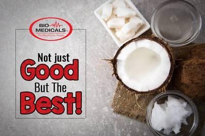 BUY 2 GET 1 FREE - 3 x 1ltr Extra Virgin Coconut Oil, 100% Organic Raw