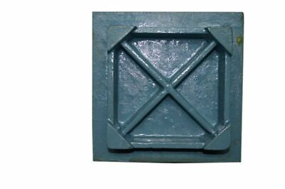 """Cast Iron Surface Plate - Hand Scrapped 6"""" X 6"""" Inch - Inspection Plate - New 2"""