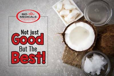 1 x 4 Litre Extra Virgin Coconut Oil, 100% Certified Organic Raw & Cold Pressed 2