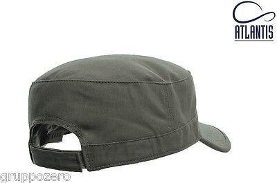 ampia selezione ultimo sconto acquista per ATLANTIS CAPPELLINO NERO soft Cappello TANK berretto ARMY cappellino  ESERCITO #
