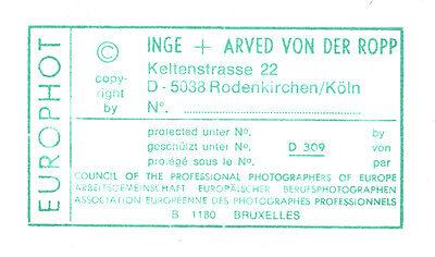 Inge und Arved von der Ropp: Moderne Innenarchitektur, gestempelt