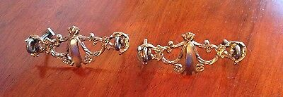 Vintage Drawer Pulls Victorian Style Two Of Them 5