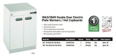 Parry 1863 Hot Cupboard Plate Warmer (Boxed New) 2