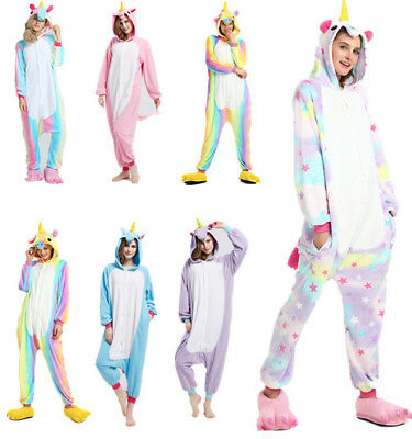 Pyjama Licorne Pyjama Licorne Adulte Kigurumi combinaison animaux Unicorn-Onesie 2