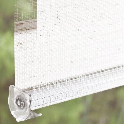 Doppelrollo Klemmfix ohne Bohren Duo Rollo Zebra Seitenzug Fenster Tür #324-a 11