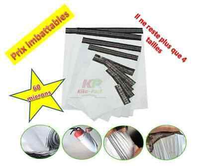 100 Enveloppes plastique opaque-260x350mm-pochettes emballage-expedition postale 2