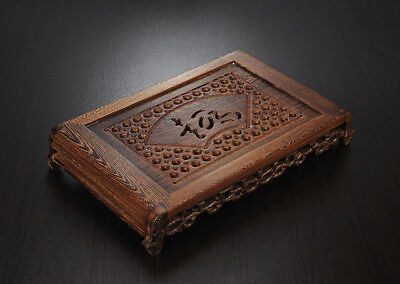 Tea tray wenge wood tea table Rosewood tea table solid wood water holder layers 6