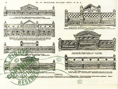 Mullins 1897 Architectural Metal Work CATALOG store fronts ornament grill vanes 4