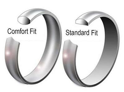 Mens & Womans Stainless Steel Wedding Band High Polish Ring Size 3.5 to 14.5 9