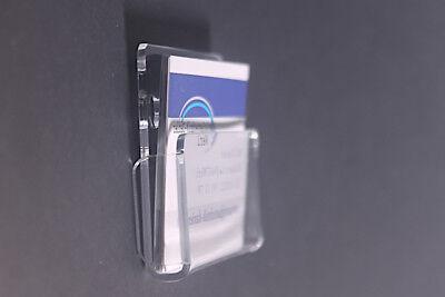 Visitenkartenwandhalter Aus Acrylglas Kleben Oder Schrauben