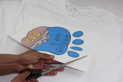 PPD A4 T Shirt Transfer Paper X 10 Sheets Only £6.14 Free P&P 4