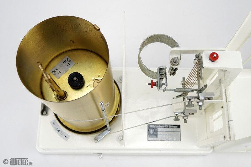 Lambrecht Hygrothermograph Luftfeuchte Temperatur #11433