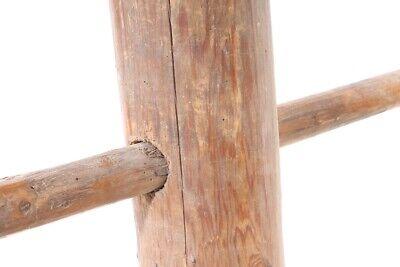 alte Holzspindel Spindel Fassspindel old vintage Deko Bauer 6