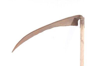 alte Sense Bauer old vintage Werkzeug Deko 4