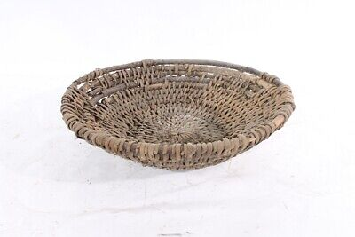 1x Old Rustic Plant Bowl Flowerpot Decor Old Vintage Container Bowl Farmer 2