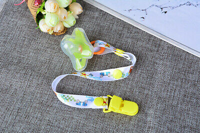 Beautiful Dummy Clip Baby Soother Clips Chain Holder Pacifier Strap Many Designs 7