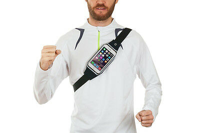 Sports Running Belt Waist Pocket Cycling Jogging Travel Wallet For Smart Phone 12