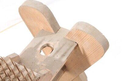 Alter antiker Flachskamm Flachsbrett Flachsreisser Hanf Bürste Werkzeug Deko 7