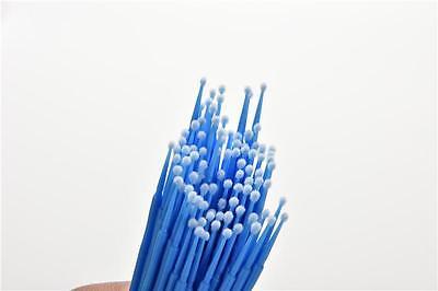 100 Pcs Micro Brush Disposable Microbrush Applicators Eyelash Extensions Swab BH