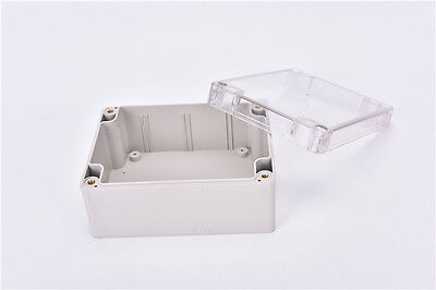 Waterproof 115*90*55MM Clear Cover Plastic Electronic Project Box Enclosure bh 2