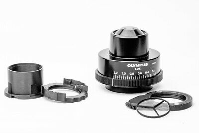 Olympus microscope condenser darkfield polarizing rotatable oblique insert set 6