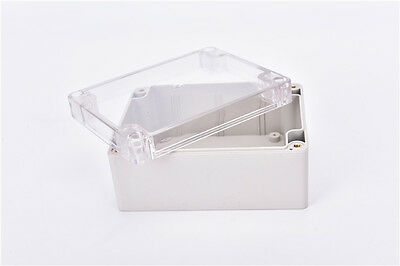 Waterproof 115*90*55MM Clear Cover Plastic Electronic Project Box Enclosure bh 3