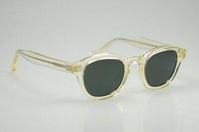 7c385e52f8d ... Retro Vintage polarized sunglasses men Johnny Depp sunglass flesh frame G15  lens 5