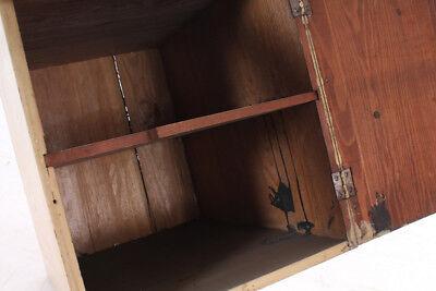 schöner alter Wandschrank Holz Holzschrank old vintage Schrank 12