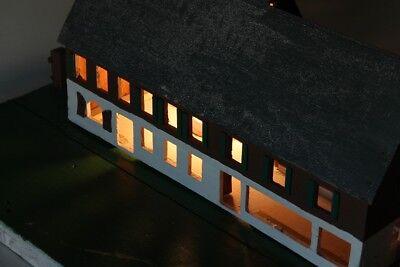 Vieux Décoratifs Poutre en Treillis Maison Bois Top Déco avec Lumière 12