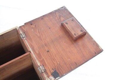 schöner alter Wandschrank Holz Holzschrank old vintage Schrank 11