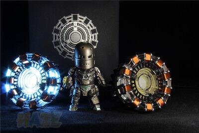 DIY Iron Man Tony Stark MK1 Arc Reactor Display Box USB Powered/Remote Control 10