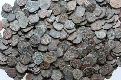 Top Quality Uncertain Byzantine Bronze Follis Coins , One Bid 100 Coins 3