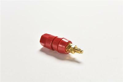 2x Noise Reducing Caps Gold Cap Speaker Amplifier Terminal Binding Post Accessories & Parts