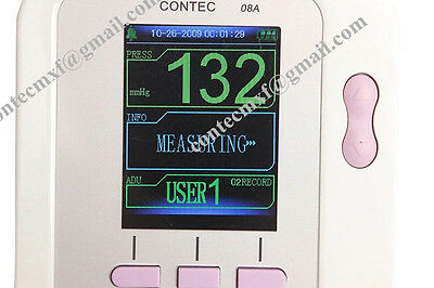 US Seller, Veterinary Digital Blood Pressure Monitor,Animal NIBP Monitor+CD, USB 8