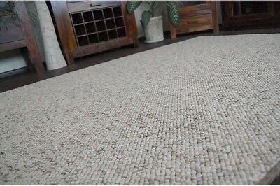Dick Laufer Exklusive Teppiche Beige Moderne Loop Teppichboden