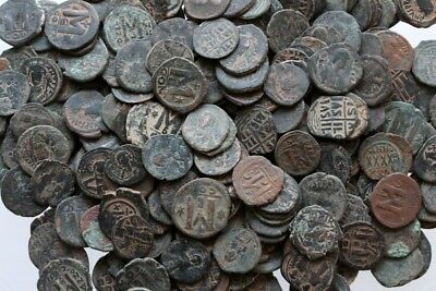 Top Quality Of Big Bronze Follis Or Half Follis Byzantine Coins , One Bib One Co 2