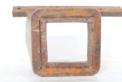 alter Aufsatz für Mühle Trichter Einfülltrichter old vintage Bauer Gerät Deko 9