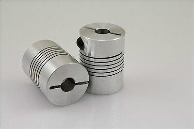 BR 6.35mm x 14mm D28L30 Flexible Coupling Shaft Coupler Encode Connector CNC