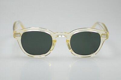 06a5536e314 ... Retro Vintage polarized sunglasses men Johnny Depp sunglass flesh frame G15  lens 6