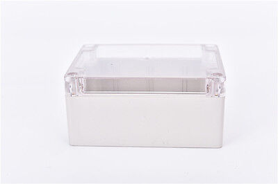 Waterproof 115*90*55MM Clear Cover Plastic Electronic Project Box Enclosure SG 6