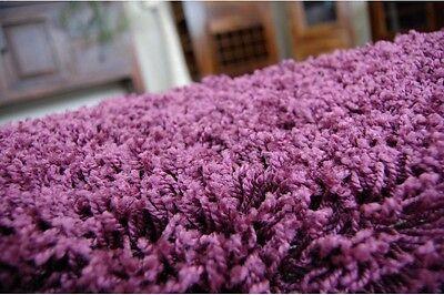 TAPIS PETIT PRIX Rond Poilu 5cm Violet Haute Qualité Nice en Touche ...