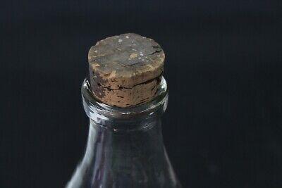 alte dekorative Glasflasche Milchgenossenschaft Pirna MIGENO Glas Flasche 2