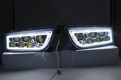 2015-2017 Polaris Rzr 900 S- White Led Halo Headlights Conversion Rzr 1000