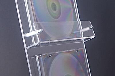 4-Fach CD Ständer,Verkaufsständer,CD Aufsteller,CD,Universal