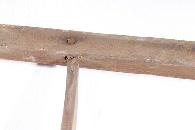 alter Griff Sense Bauer old vintage Werkzeug Deko 5