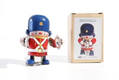 Blechspielzeug Soldat Mit Pauke Aufzugsmodell Tin Toy Figuren Jouet En Tôle