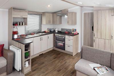 2019 Holiday Deposit - Haven Devon Cliffs New 2018 Prestige 3B Caravan For Hire 6