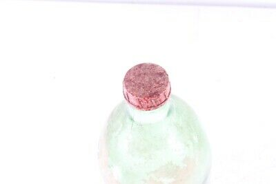Set 3 Stück alte Glasflaschen Öl Flasche Konvolut Deko Flaschen old vintage Glas 3