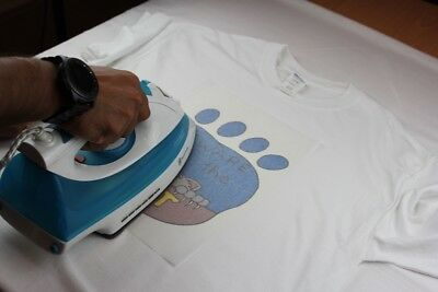 PPD A4 T Shirt Transfer Paper X 10 Sheets Only £6.14 Free P&P 9